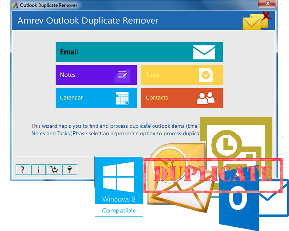 Download free Outlook Duplicate Remover by Amrev Software ...