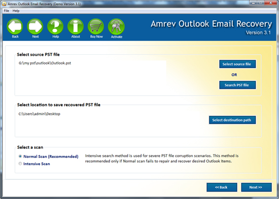 professional Email recovery software